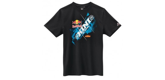 CAMISETA KTM KINI-RB CHOPPED TEE NEGRA