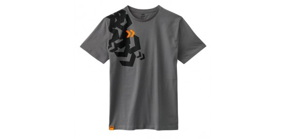 CAMISETA KTM ARROW GRIS TEE