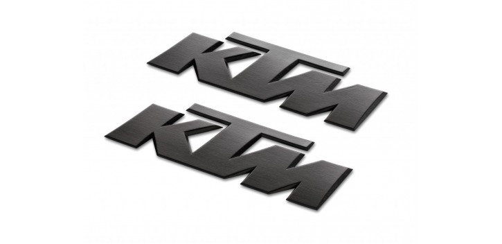KTM 3D STICKER BLACK