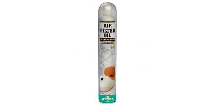 MOTOREX AIR FILTER OIL SPRAY- 750 ml.