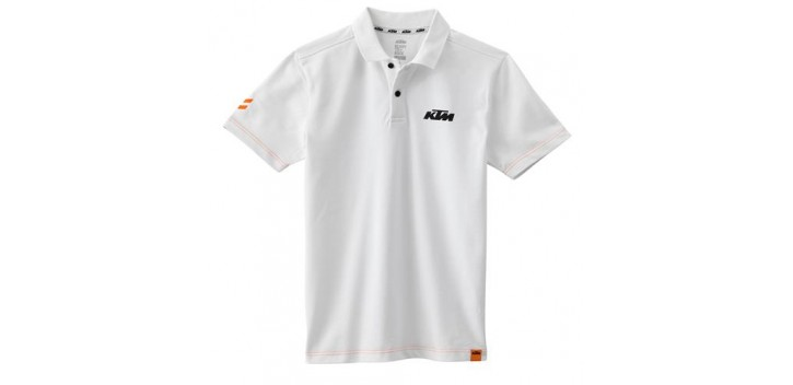 POLO RACING KTM BLANCO