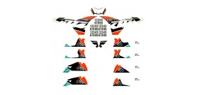 KTM FACTORY DECAL KIT