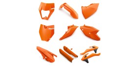 ORANGE PLASTIC KIT SX 16-18/EXC 17-19