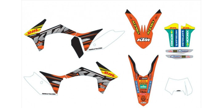 KIT DE ADHESIVOS ENDURO FACTORY
