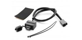KIT DE CONECTOR HEMBRA USB DE CARGADOR