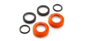 Factory wheel bearing protection cover kit
