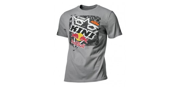 CAMISETA KTM KINI SQUARE GREY