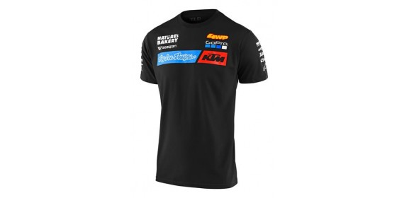 TLD TEAM TEE BLACK M