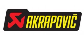 60005099003 STICKER AKRAPOVIC 44X150