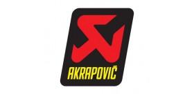 STICKER AKRAP.60X57 F. CARBON