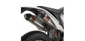 SLIP-ON FACTORY SILENCER AKRAPOVIC KTM FREERIDE 350