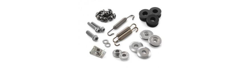 Exhaust parts kits
